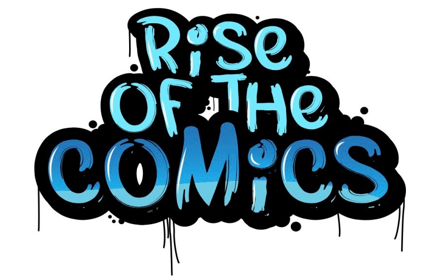 rise of the comics logo